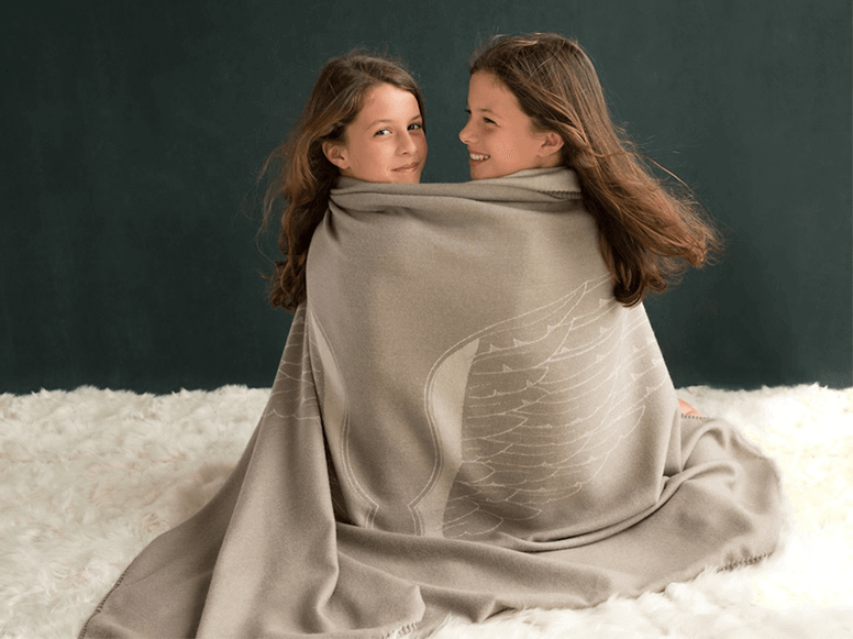 Angel Wings Throw