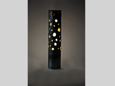 Metal Lamp with Perforations