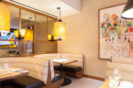 Custom Lamp Shades for The Smyth Hotel featured in The New York Times