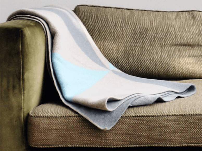 KTD Cashmere Wool Throw