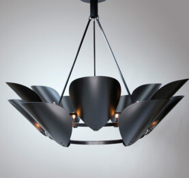 Home products lighting trans luxetrans luxe custom lighting and black petal chandelier mozeypictures Image collections