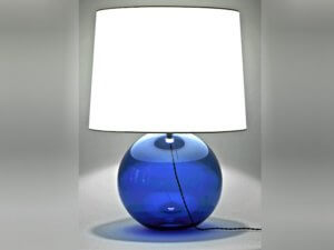 Azul Hand Blown Glass Table Lamp