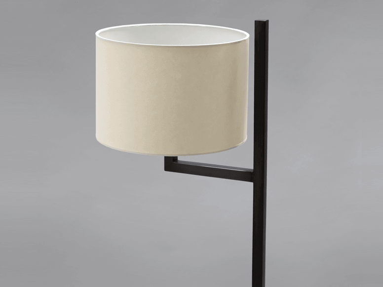 Cuatro Blackened Steel Floor Lamp