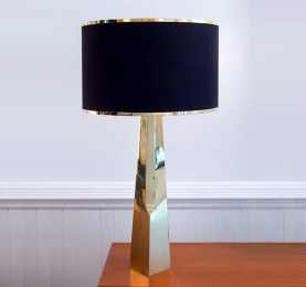 Custom Brass Table Lamp