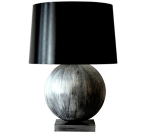 Hand Painted Wood Table Lamp featured image test
