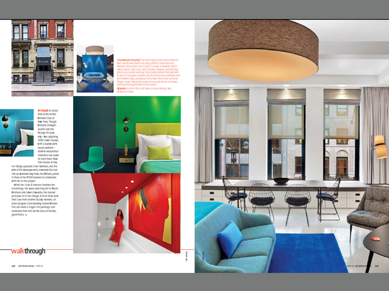 Interior Design Magazine / Lilian B. Interiors / Sept. 2014