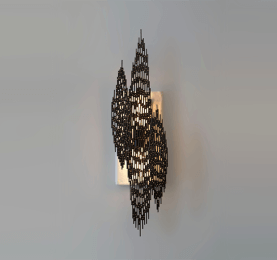 Open Weave Metal Sconce 02