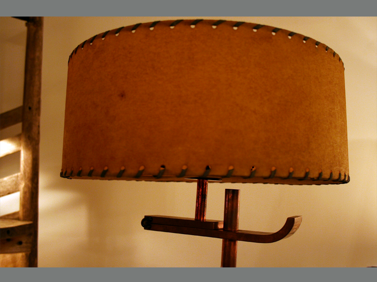 Stitched Lampshade 3