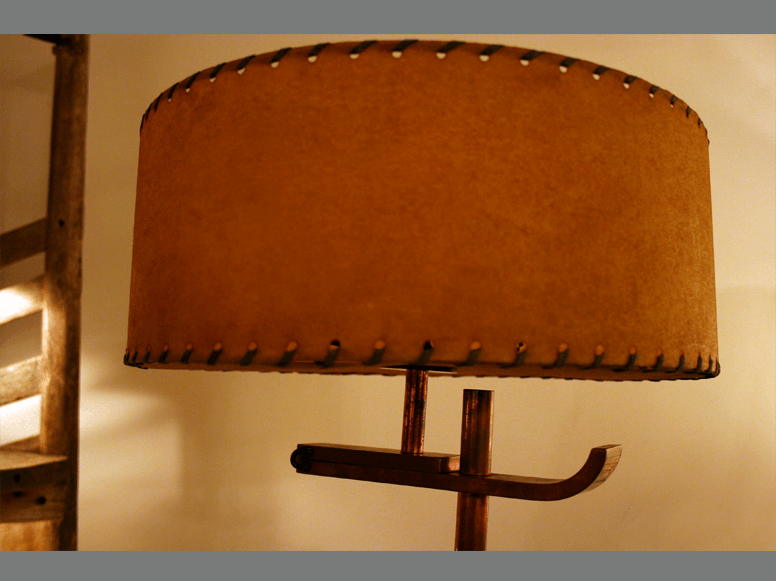 Stitched Lamp Shade 3   Trans LUXEtrans LUXE : Custom Lighting And Shades  Hand Made In New York City