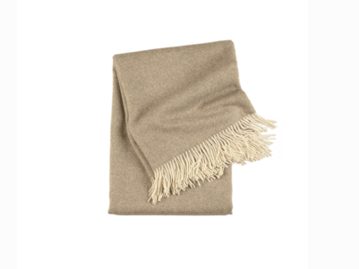 Timeless Bark Baby Alpaca Throw
