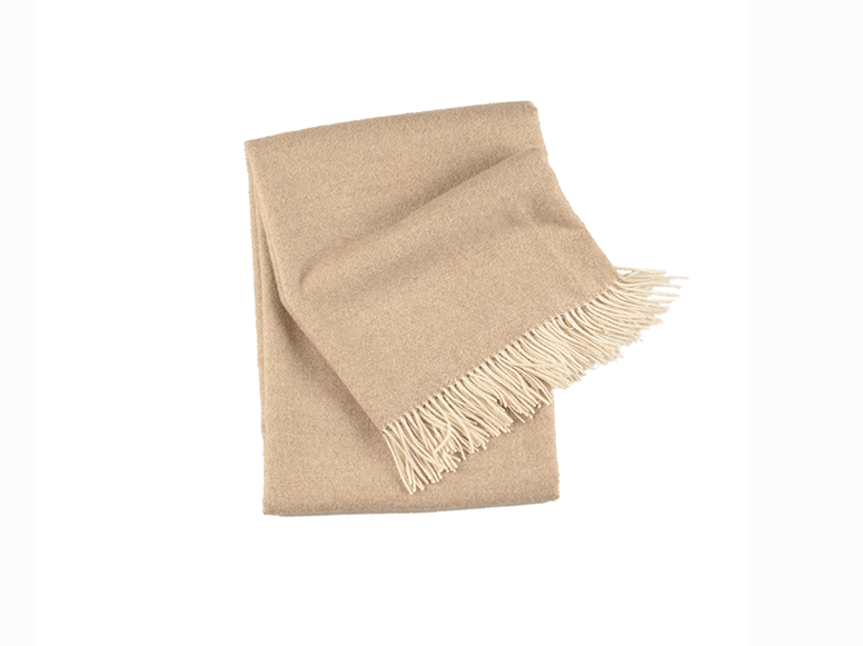 Timeless Linen Baby Alpaca Throw