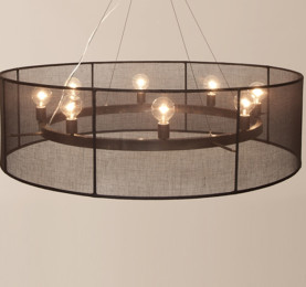 transparent Black chandelier featured image test